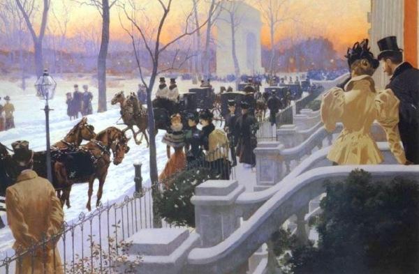 03-23 A Winter Wedding Washington Square