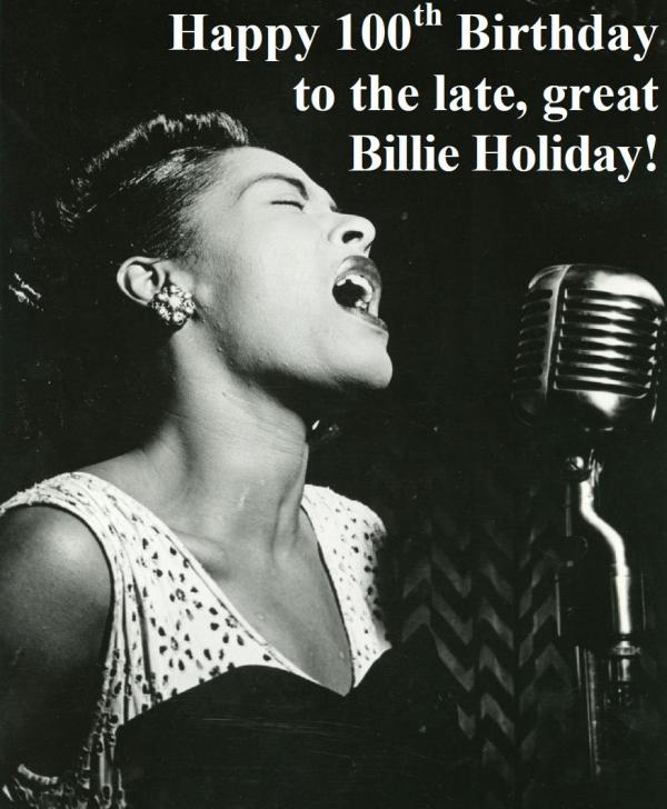 04-07 Billie Holiday