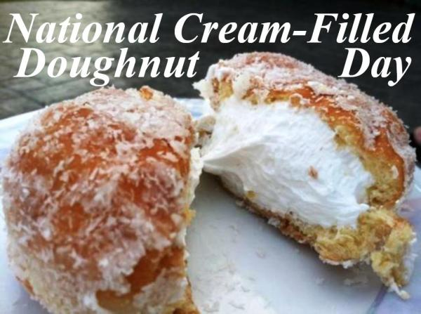 09-14 Cream Filled Donut Day