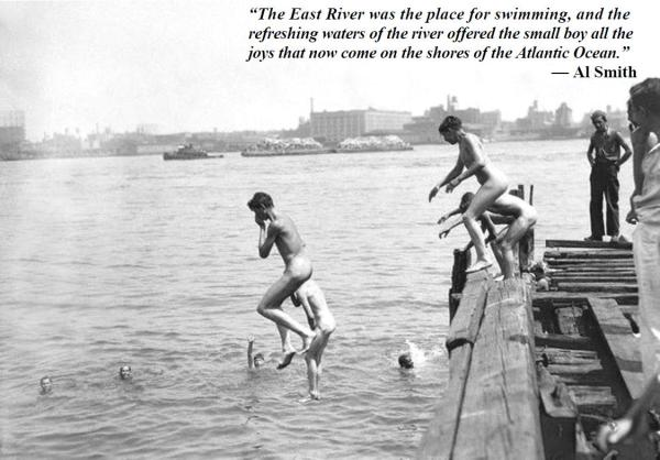 06-17 East River Swimming