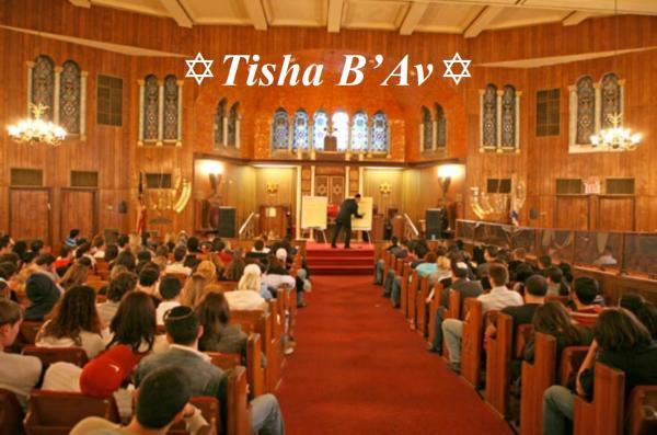 08-14 Tisha B'Av