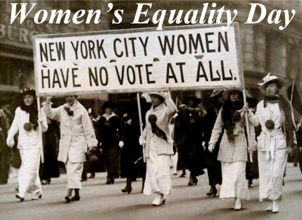 08-26 Women's Equality Day