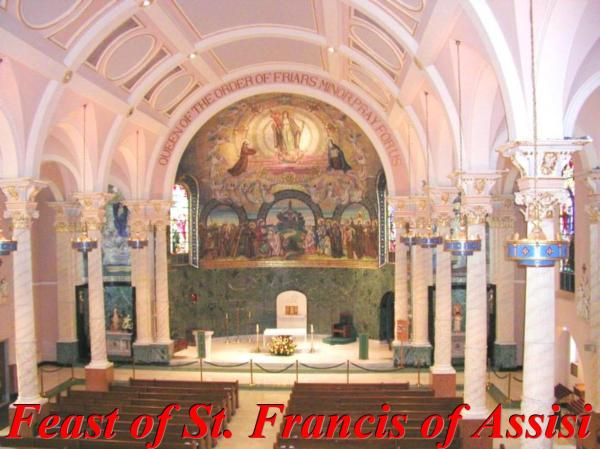 10-04 Feast of St Francis of Assisi