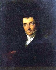 Washington Irving in 1820